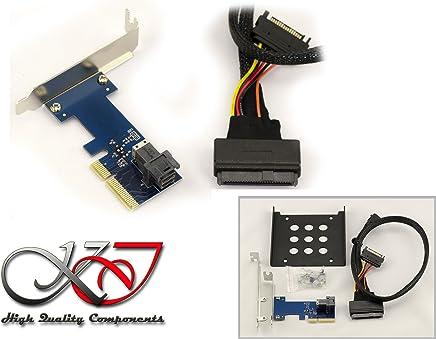 b7597cbcc7 KALEA-INFORMATIQUE © - Kit adaptateur U2 (68Pin SFF-8639) vers PCIe