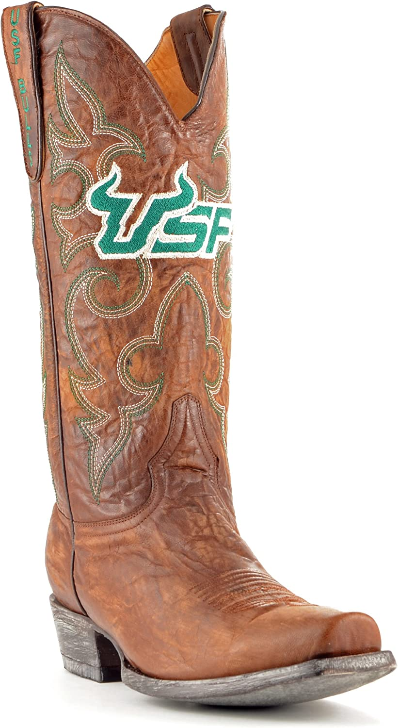NCAA Mens Men's University of South Florida Board Room Style Boot