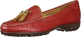 Women's Womens Genuine Leather Made in Brazil Wall Street Golf Shoe Athletic Shoe