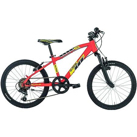 """Alpina Bike Flip MTB, Bicicletta Bambino, Rosso, 20"""""""
