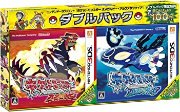 New Nintendo 3ds Pokemon Omega Ruby Alpha Sapphire Double Pack