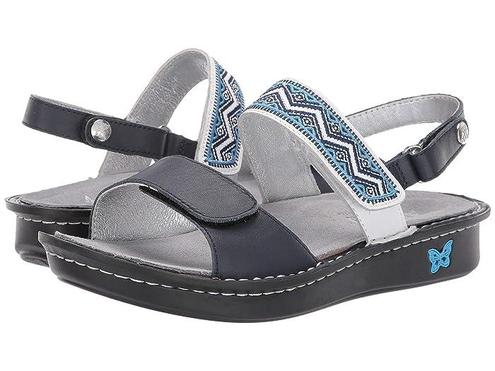 Alegria  Verona (Navy) Womens Sandals