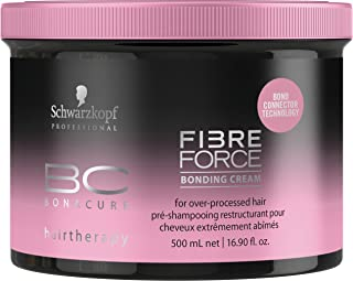 Schwarzkopf Professional BC Fibre Force Bonding Cream Tratamiento Capilar - 500 ml