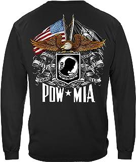 Double Flag Eagle Pow T Shirt MM2149