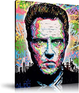 Newartprint ALEC Monopoly HD Printed Oil Paintings Home Wall Decor Art On Canvas Christopher Walken 24x32inch Unframed