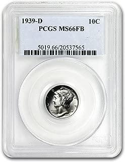 1939 d mercury dime