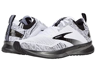 Brooks Levitate 4 (White/Black) Women