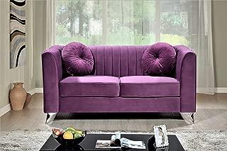 Velvet - Purple Sofas & Couches | Furniture | Home & Kitchen ...