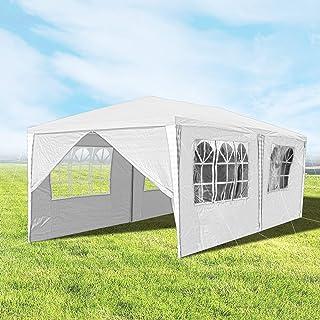 Hengda 3x6m Pavillon Partyzelt UV-Schutz Hochwertiges GartenPavillon Wasserdicht mit 6..