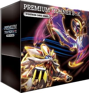 Pokemon card game Sun & Moon premium trainer box
