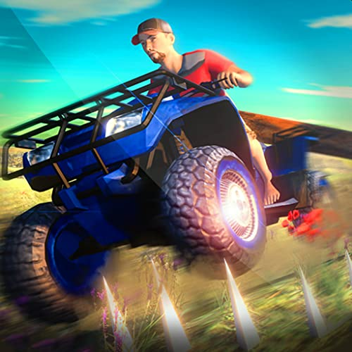 ATV Quad Bike Impossible Stunts Racing Mania Game