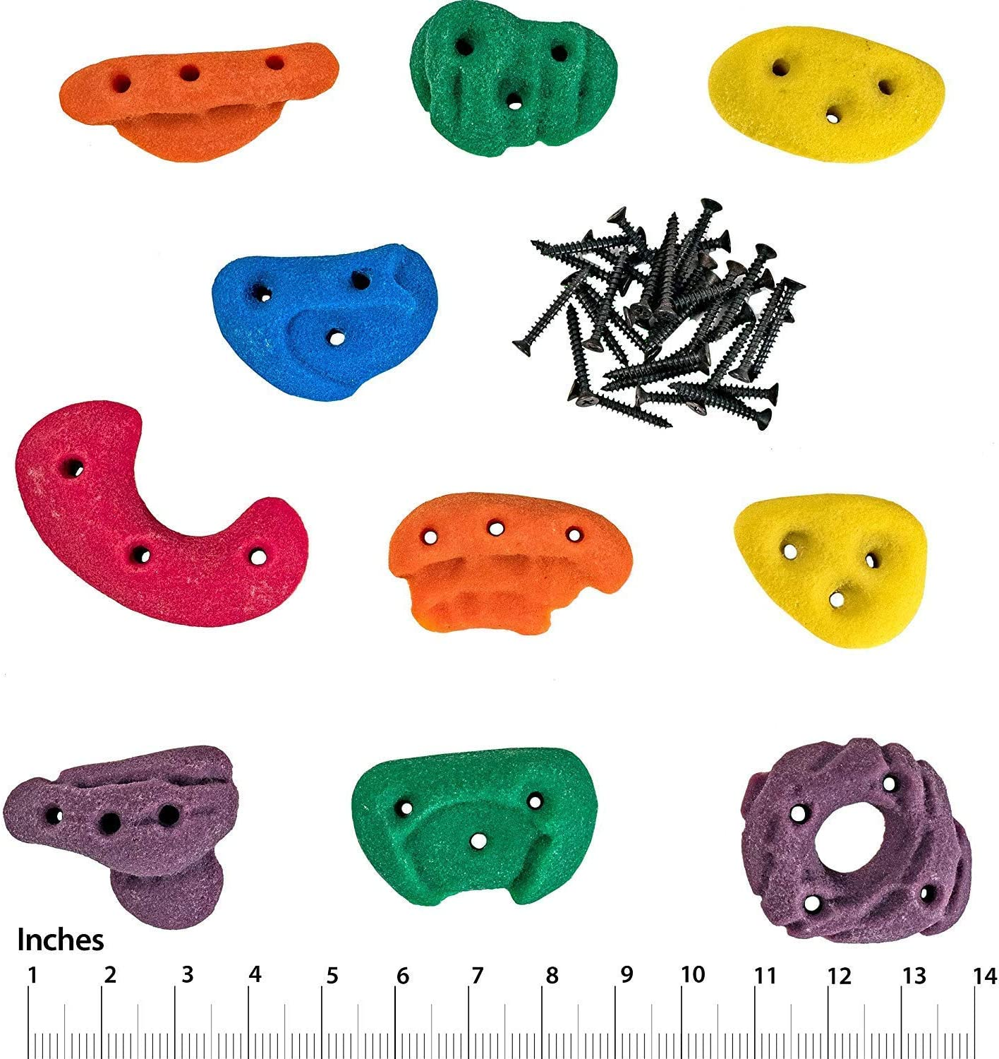 BonePinches 40mm Wooden Holds for Climbing