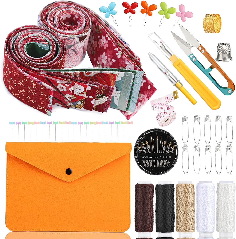 Quilting Fabric Bundles+Sewing Nippon regular agency Thread+Seam High quality new Ripper+Hand Ne Sewing
