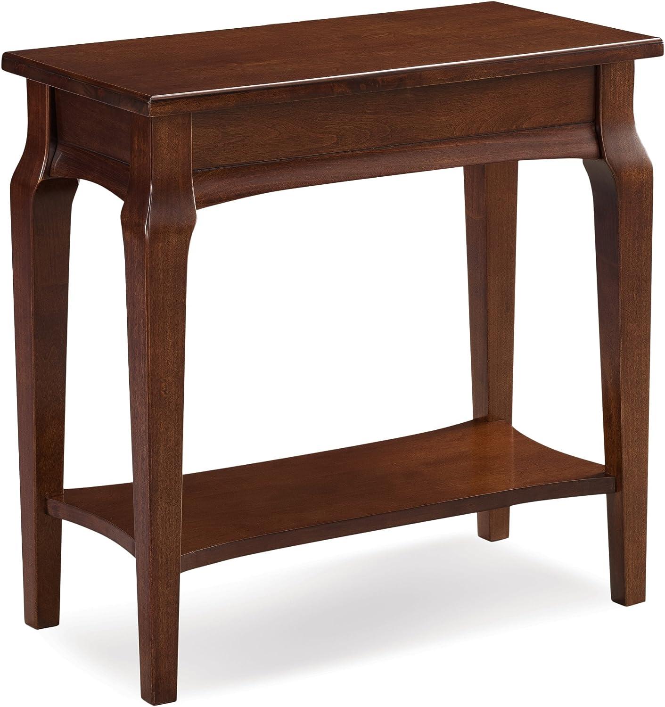 Leick 22005 Contemporary Stratus Narrow Chairside Table