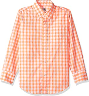 Amazon/ J. Crew Brand- LOOK by crewcuts Boys` Long Sleeve Gingham Shirt