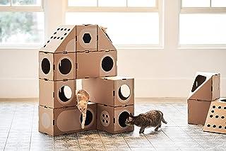 Amazon Com Cardboard Cat House