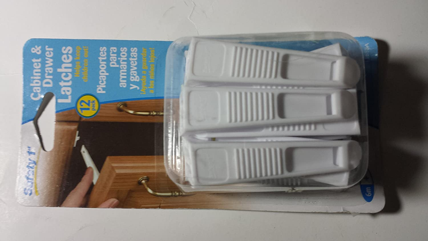 Safety First Cabinet and Drawer Latches - 12-Pack