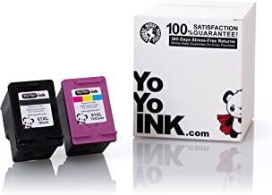 YoYoInk Remanufactured Printer Ink Cartridges Replacement for HP 61XL 61 XL High Yield (1 Black, 1 Color; 2 Pack)