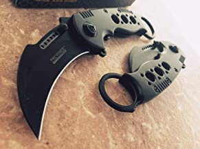 TAC-FORCE Spring Assisted G'Store Opening Knives Black KARAMBIT CLAW Rescue Pocket Knife 6 product ratings
