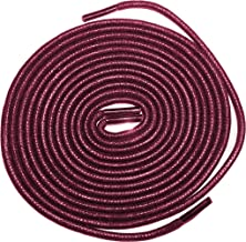burgundy boot laces