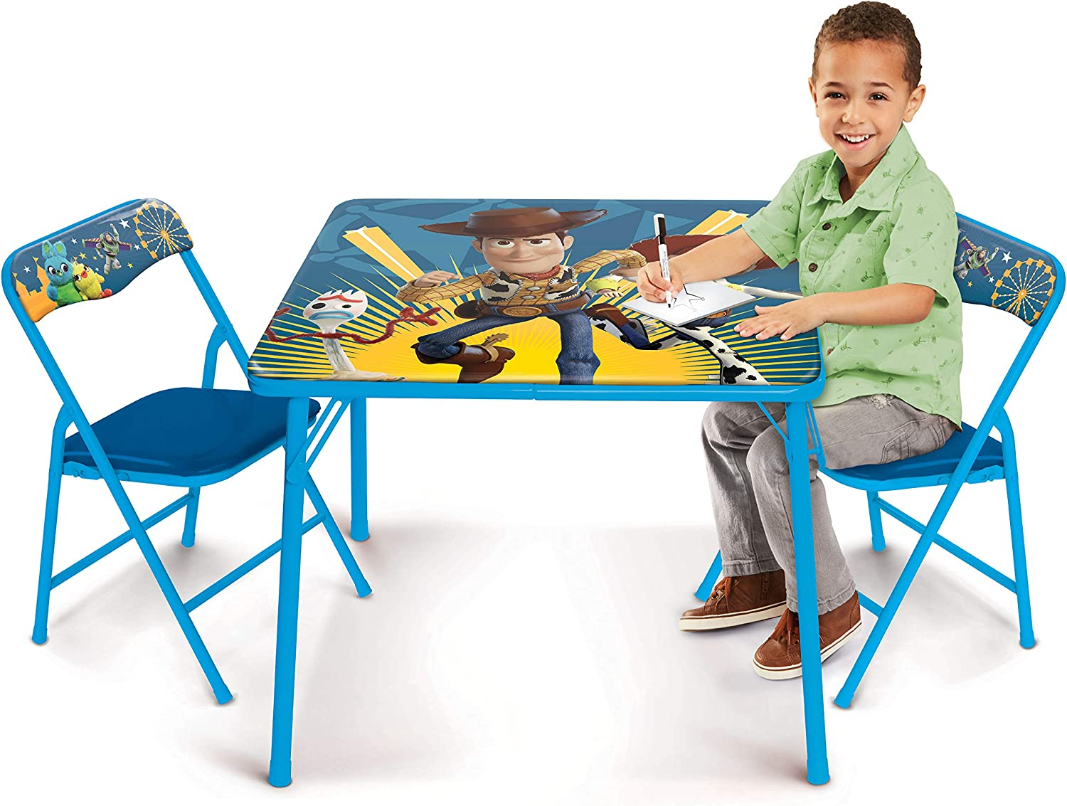 Toy Story Activity Table Set with Two Chairs