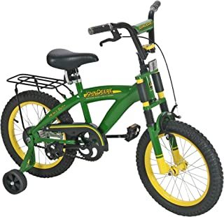 John Deere Bicycle Ride on Toy, Green, 16 Inches