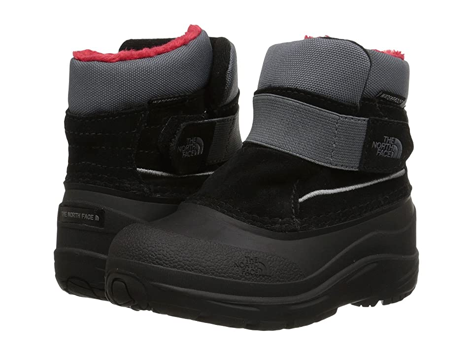The North Face Kids Alpenglow (Toddler) (TNF Black/Zinc Grey) Boys Shoes