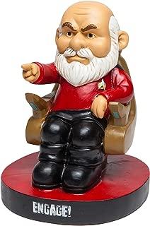 "BigMouth Inc.Star Trek Picard Garden Gnome –Funny Garden Gnome with Star Trek Theme, Makes a Great Gag Gift, Weatherproof Ceramic Lawn Gnome, 8"" Tall"