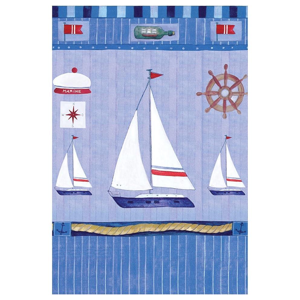 Jillson Roberts Recycled Gift Enclosure Cards, Nautical, 12-Count (EC165)