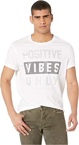 Positive Vibes Only Stud