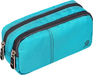 Pencil Case Large Pencil Pouch with Double Zippers for Middle High School Collage Office Student Boys Girl Adults 60 Pens ...
