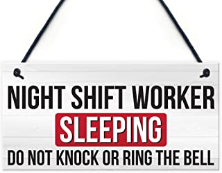 Best sleeping night shift worker sign Reviews