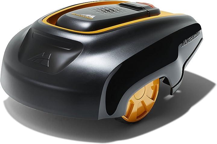 Tagliaerba robot - mcculloch 00096-70.598.25 rasaerba rob r1000: robot adatto per prati da 1000 m² 9670598-25
