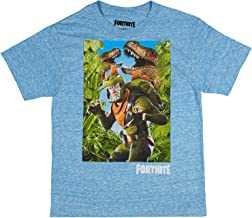 Fortnite Shirt Boys' Rex Welcome To The Jungle Officially Licensed Graphic Character T-Shirt
