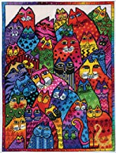 Design Works Counted Cross Stitch Kit - Laurel Burch Cat Collage