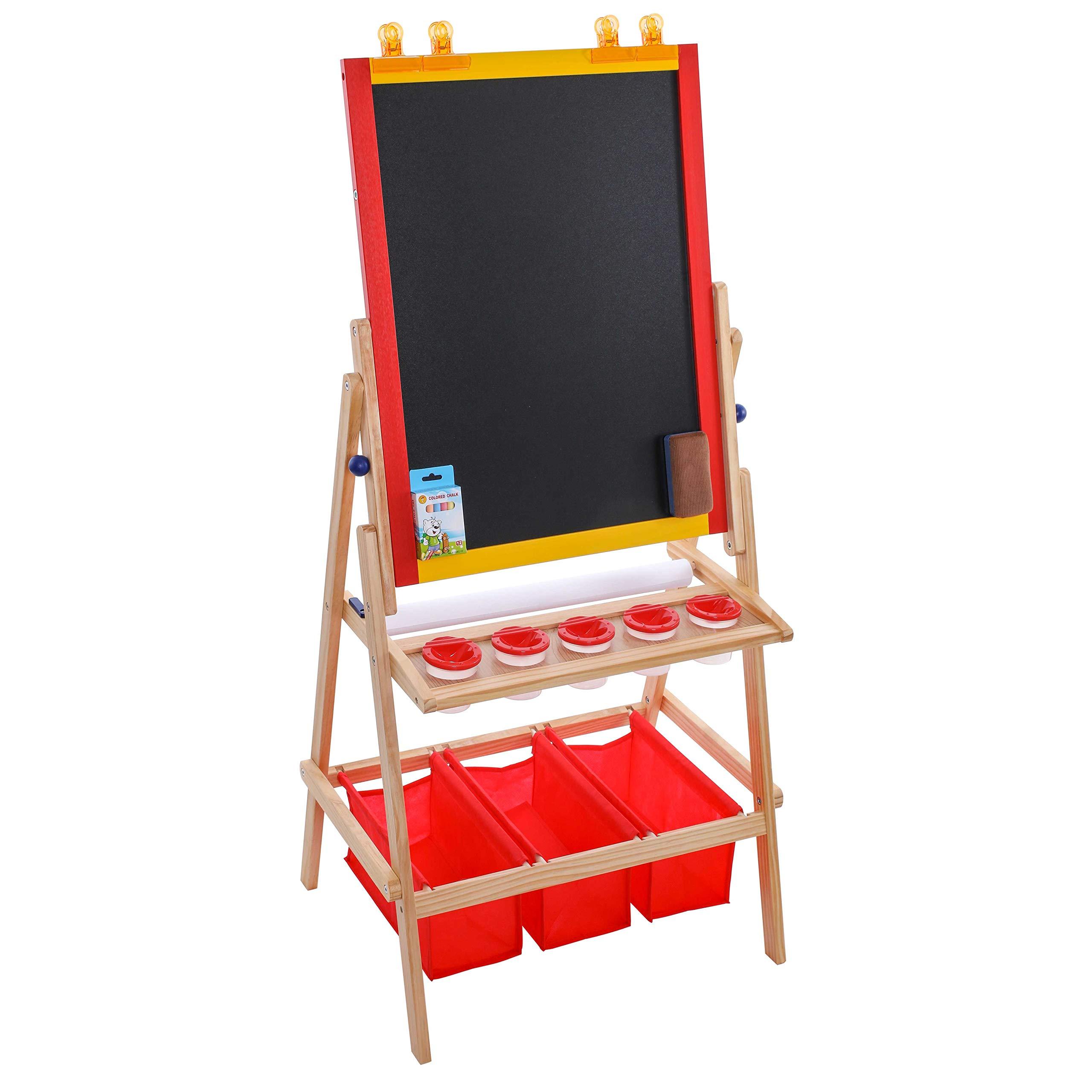 Art Supply Flip Over Double Sided Chalkboard
