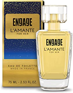 Engage L'amante Eau De Toilette, Perfume for Women, 75ml
