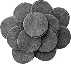 Playfully Ever After 3 Inch Charcoal Gray 30pc Felt Circles
