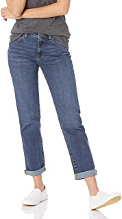 Women's Mid-Rise Girlfriend Cropped Jean