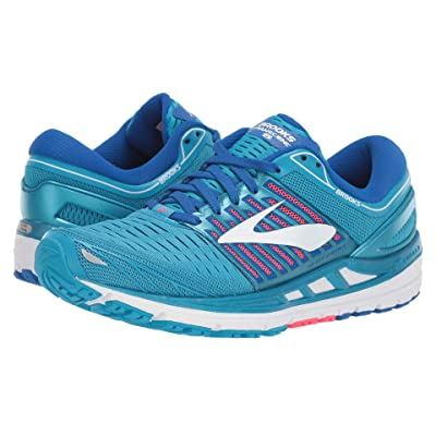 Brooks Transcend 5 (Blue/Pink/White) Women