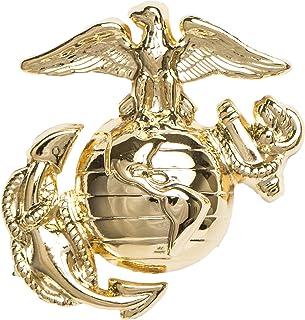 USMC Dress Cap Device, ENLISTED