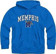 Campus Colors Long Sleeves NCAA Adult Arch & Logo Gameday Unisex Hooded Sweatshirt