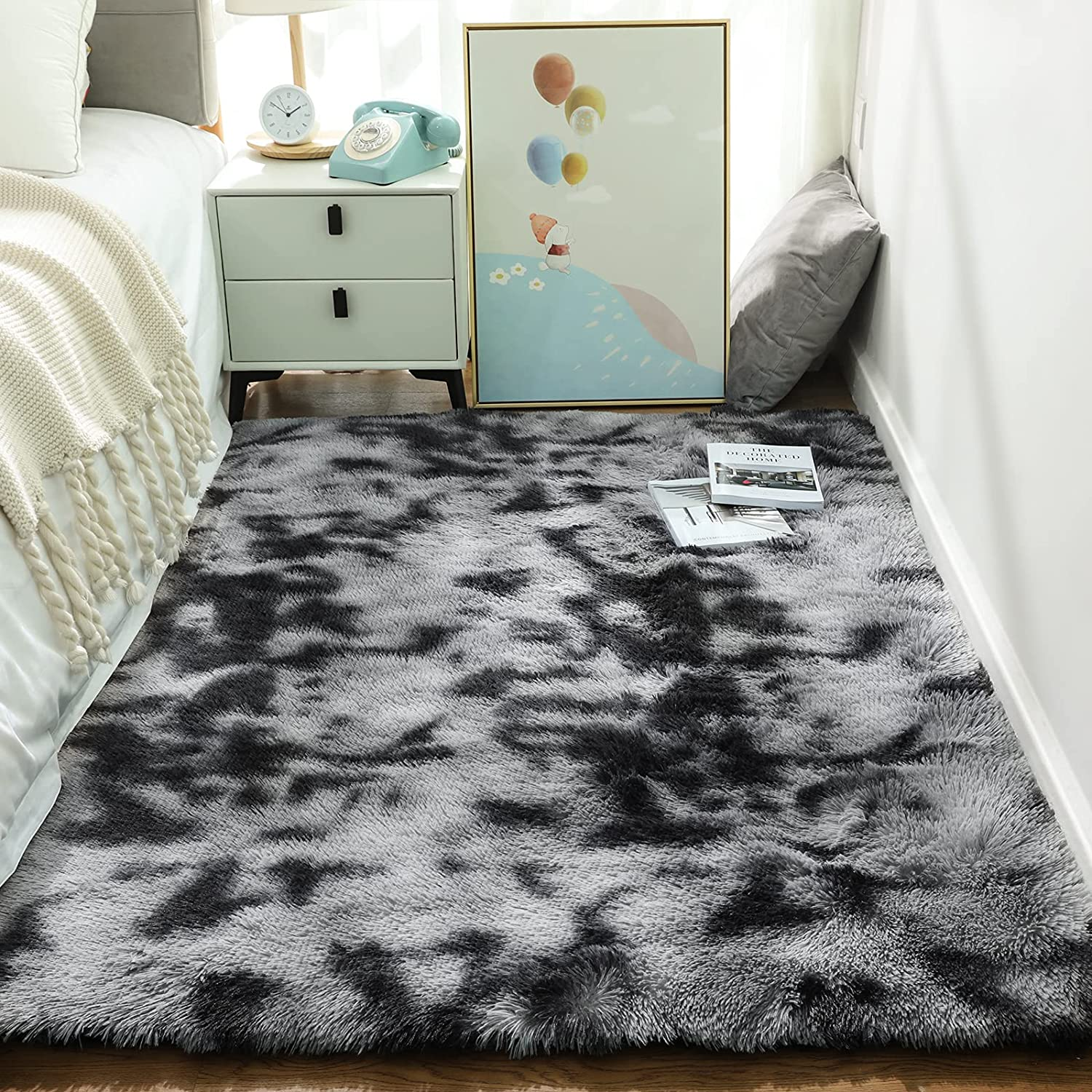 Ophanie Rugs Clearance SALE! Limited time! for Bedroom Fluffy Shag S Fuzzy Carpet Plush 25% OFF Soft
