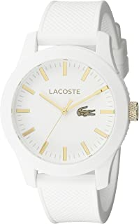 Men's 2010819 Lacoste.12.12 Analog Display Quartz White Watch