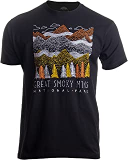 Great Smoky Mountains National Park | Smokie Poster Decal Art Men Women T-Shirt