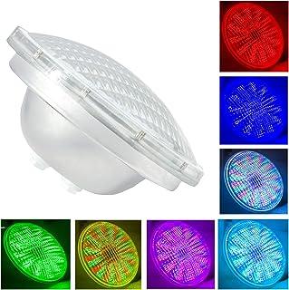 Par56 LED zwembad, LED zwembadverlichting onderwater 54W AC 12V, RGB met afstandsbediening zwembadverlichting, wit 6000K, ...