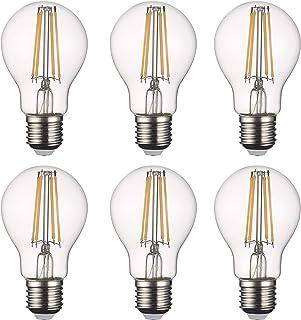 SD LUX LED Light Bulb Base Classic A Lamp E27, 8 W 806 Lumen Filament Lamps, Replaces 75 W Filament Bulb, 2700 K Warm Whit...
