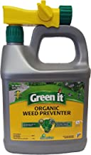 Green it Environmental Factor RTS Corn Gluten Weed Preventer, 64-Ounce Coverage 2000sqft