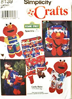 OOP Simplicity Sesame Street Pattern 8139. Clothes for 16