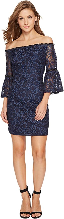 BB Dakota - Danlyn Off the Shoulder Lace Dress